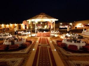 Bild Dubai Dinner im Wüstencamp